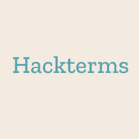 Hackterms: a dictionary of programming terms